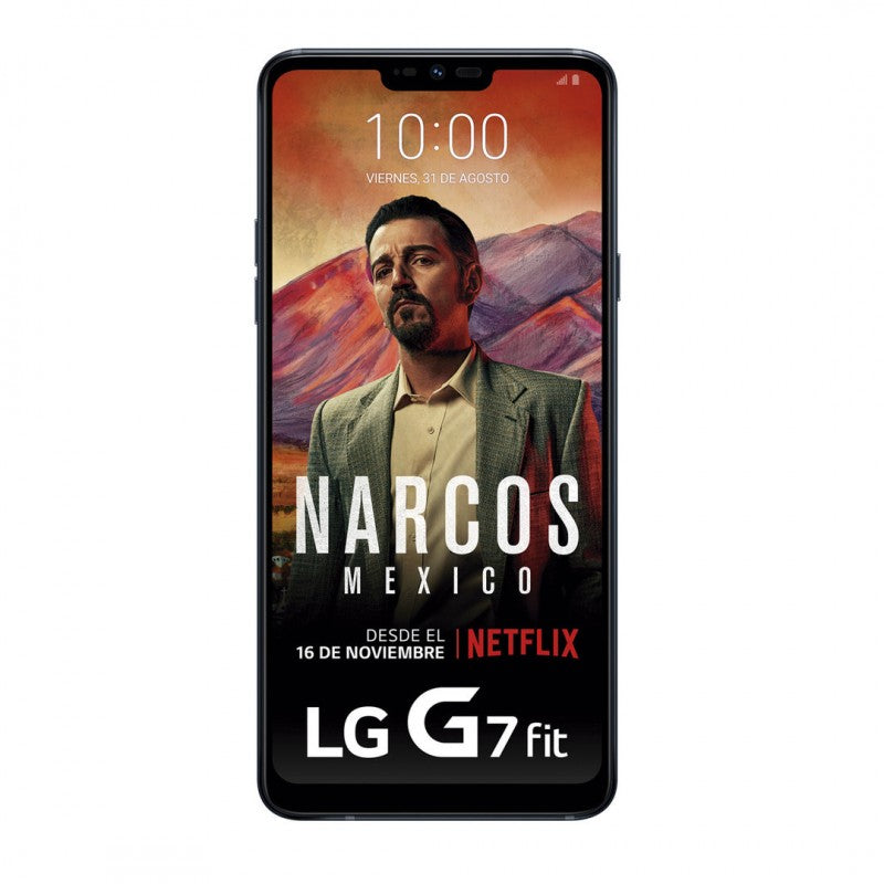 LG G7 Fit (Pre-Owned, 32GB, Black, Dual Sim, Special Import)-Smartphones (Open Box)-Connected Devices