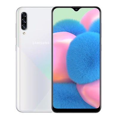 Samsung Galaxy A30S (64GB, Dual Sim, White, Special Import-Smartphones (New)-Connected Devices