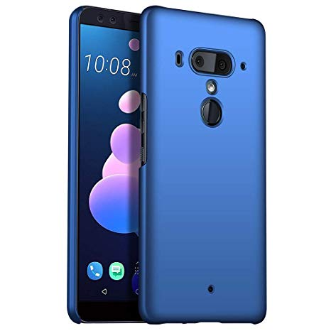 HTC U12 Plus (64GB, Dual Sim, Translucent Blue, Special Import)-Smartphones (New)-Connected Devices