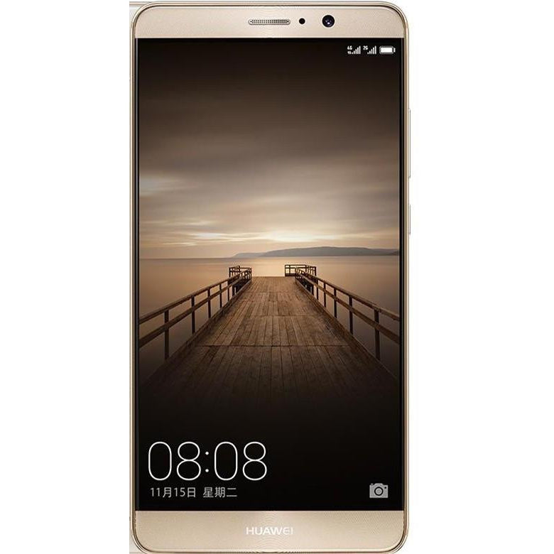 Huawei Mate 9 (64GB, Dual Sim, Champagne Gold, Special Import)
