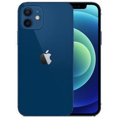 Apple iPhone 12 5G (128GB, Dual Sim, Blue, Special Import)-Smartphones (New)-Connected Devices
