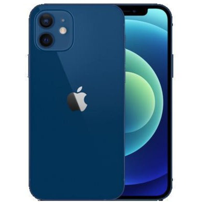 Apple iPhone 12 5G (256GB, Dual Sim, Blue, Special Import)-Smartphones (New)-Connected Devices