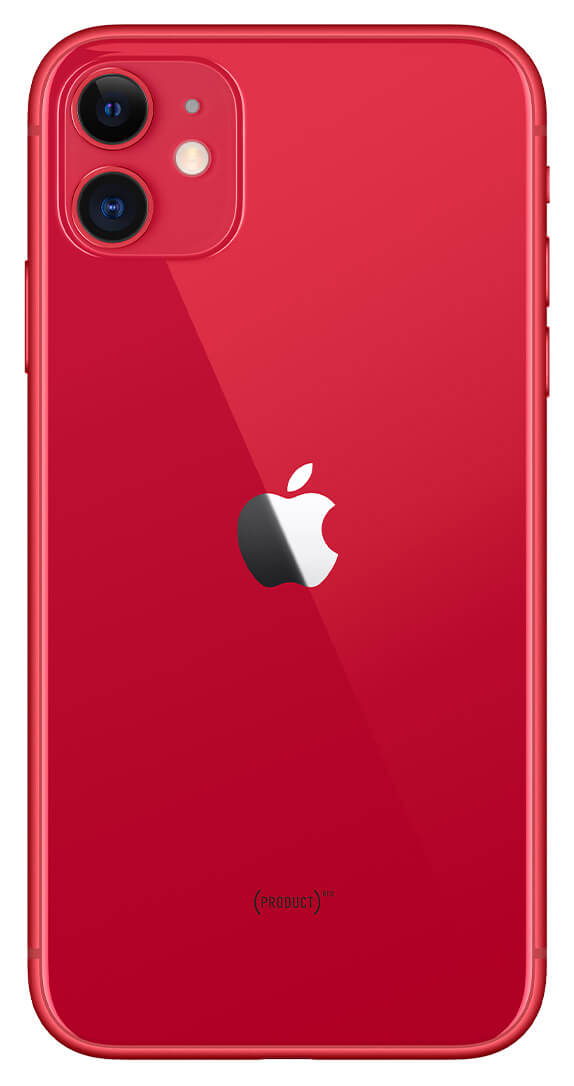 Apple iPhone 11 (64GB, Red, Special Import)-Smartphones (New)-Connected Devices