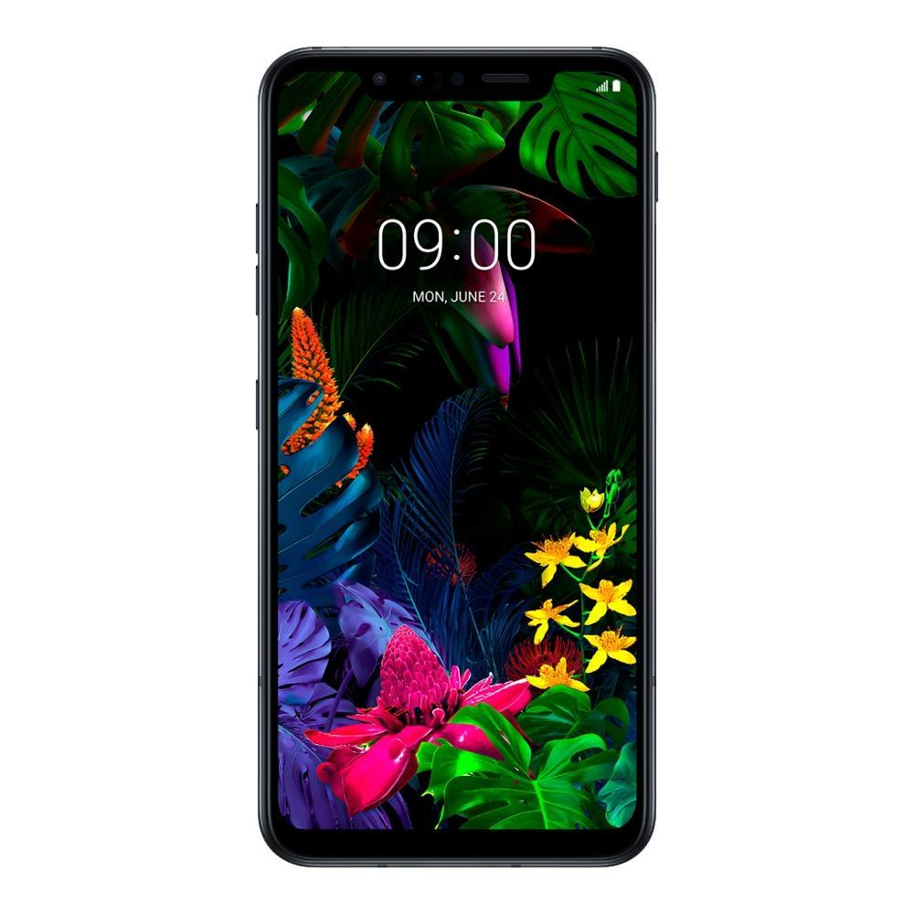 LG G8s ThinQ (Pre-Owned, 128GB, Dual Sim, Black, Special Import)-Smartphones (Open Box)-Connected Devices