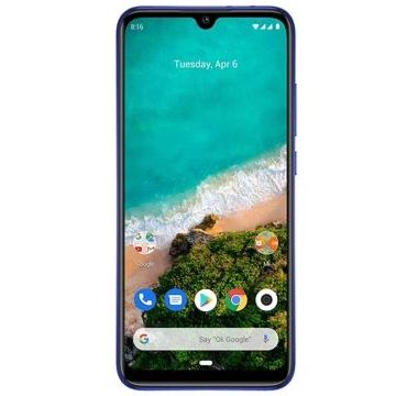 Xiaomi Mi A3 (128GB, Dual Sim, Blue, Special Import)-Smartphones (New)-Connected Devices