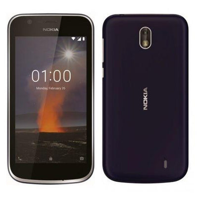 Nokia 1 (8GB/1GB RAM, Dark Blue, Single Sim, Local Stock)