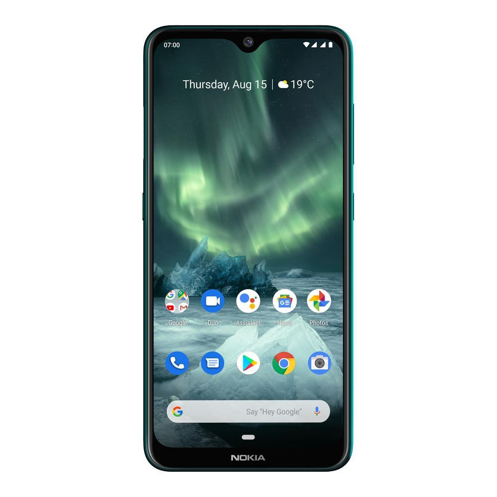 Nokia 7.2 (2019, 128GB, Dual Sim, Green, Special Import)-Smartphones (New)-Connected Devices