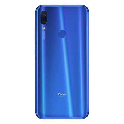 Xiaomi Redmi Note 7 (128GB, Dual Sim, Blue, Special Import)-Smartphones (New)-Connected Devices