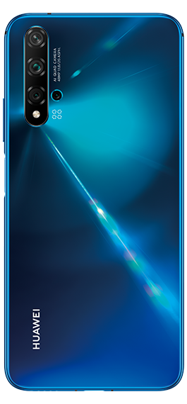 Huawei Nova 5T (128GB, Dual Sim, Blue, Special Import)-Smartphones (New)-Connected Devices