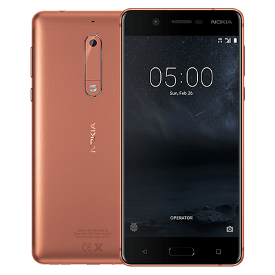 Nokia 5 (16GB/2GB, Copper, Single Sim, Local Stock)-Smartphones (New)-Connected Devices