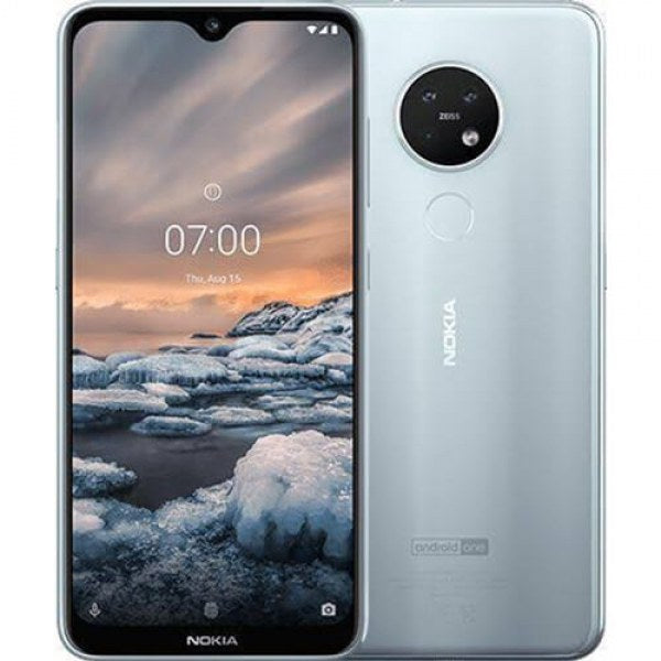 Nokia 6.2 (64GB, Dual Sim, Ice, Special Import)-Smartphones (New)-Connected Devices