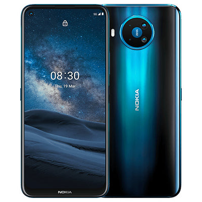 Nokia 8.3 5G (128GB, 8GB RAM, Dual Sim, Blue, Special Import)-Smartphones (New)-Connected Devices