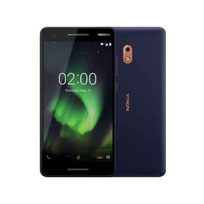 Nokia 2.1 (2018, 8GB, Black, Single Sim, Local)-Smartphones (New)-Connected Devices