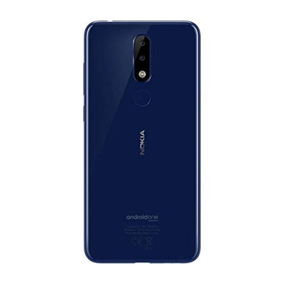 Nokia 5.1 Plus (32GB, Dual Sim, Blue, Special Import)-Smartphones (New)-Connected Devices