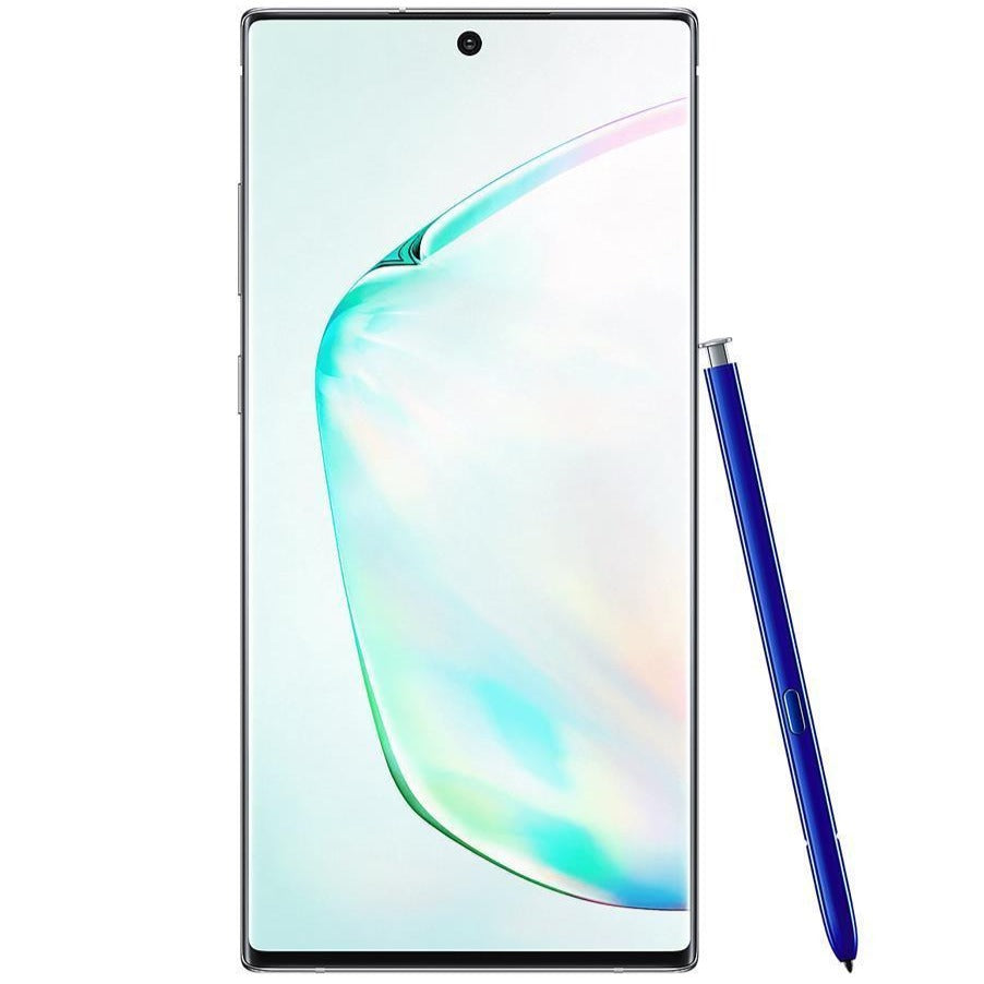 Samsung Galaxy Note 10 Plus (256GB, Single Sim, Aura Glow, Local Stock)-Smartphones (New)-Connected Devices