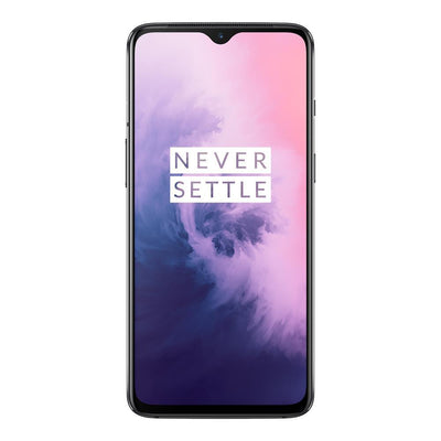 OnePlus 7 (128GB/6GB RAM), Dual Sim, Mirror Grey, Special Import)-Smartphones (New)-Connected Devices