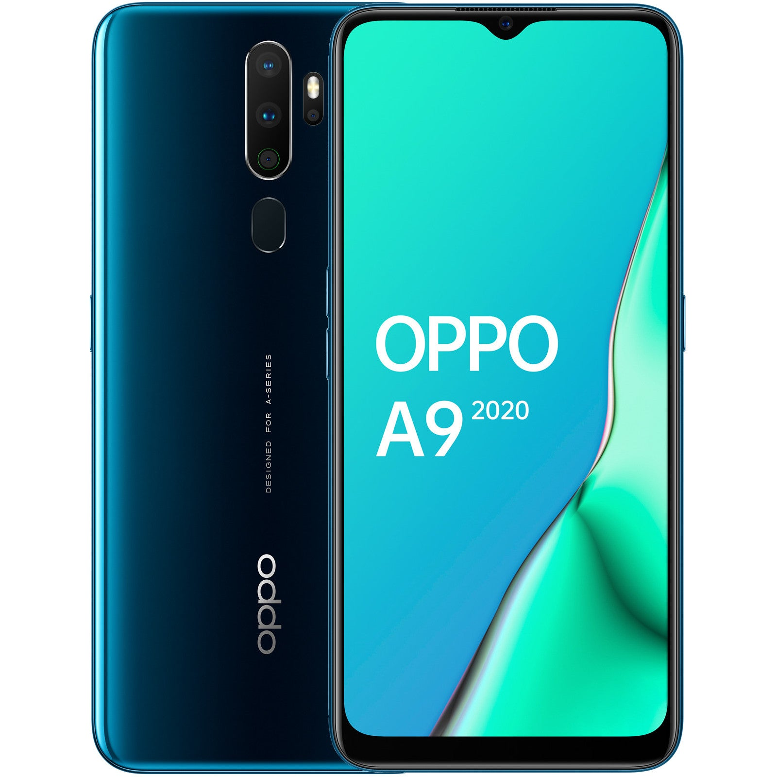 Oppo A9 2020 (128GB, 4GBRAM, Dual Sim, Green, Special Import)-Smartphones (New)-Connected Devices