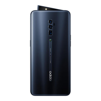 Oppo Reno (256GB, 6GB RAM, Dual Sim, Jet Black, Special Import)-Smartphones (New)-Connected Devices