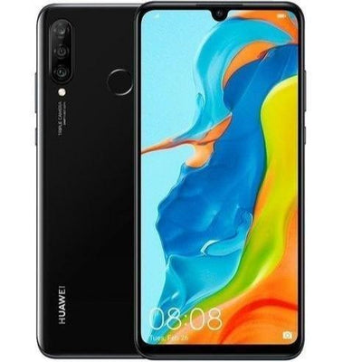 Huawei P30 Lite New Edition (128GB, Dual Sim, Black, Local Stock)-Smartphones (New)-Connected Devices