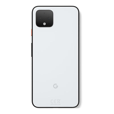 Google Pixel 4 (64GB, Clearly White, Special Import)-Smartphones (New)-Connected Devices