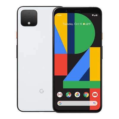 Google Pixel 4 (128GB, Clearly White, Special Import)-Smartphones (New)-Connected Devices