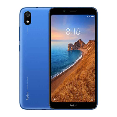 Xiaomi Redmi 7A (16GB, Dual Sim, Blue, Special Import)-Smartphones (New)-Connected Devices