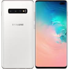 Samsung Galaxy S10 Plus (512GB, Dual Sim, Ceramic White, Special Import)-Smartphones (New)-Connected Devices