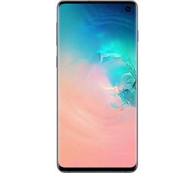 Samsung Galaxy S10 (512GB, Dual Sim, Prism White, Special Import)-Smartphones (New)-Connected Devices