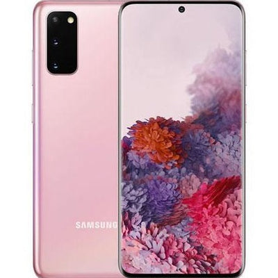 Samsung Galaxy S20 (128GB, Pink, Dual Sim, Special Import)-Smartphones (New)-Connected Devices