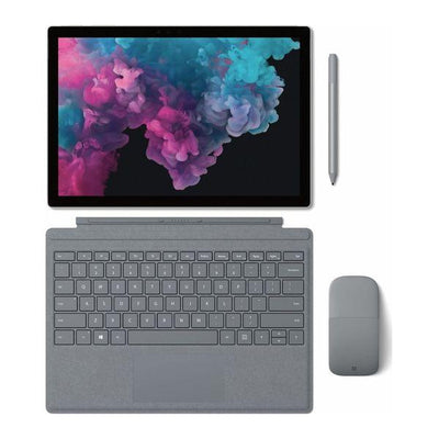 Microsoft Surface Pro 6 (i7, 16GB, 1TB), Silver, Special Import)