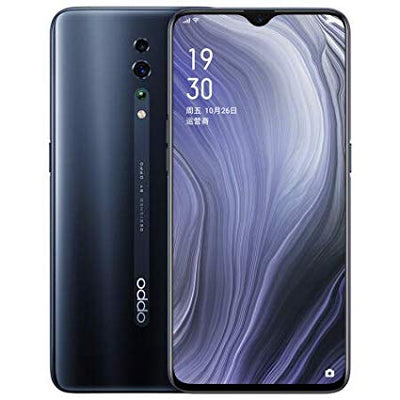 Oppo Reno Z (128GB, Dual Sim, Jet Black, Special Import)-Smartphones (New)-Connected Devices