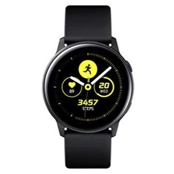 Samsung Galaxy Watch Active (WiFi, Black, Special Import)-Wearables (New)-Connected Devices