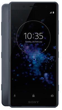 Sony Xperia XZ2 Compact (64GB, Black, Special Import)