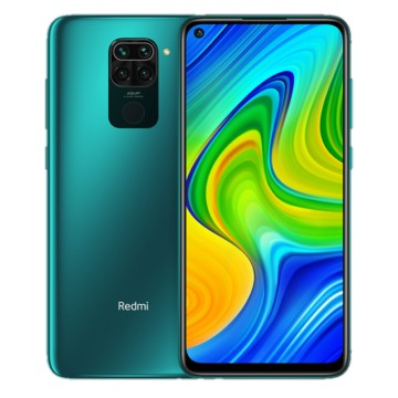 Xiaomi Redmi Note 9 (128GB, Dual Sim, Green, Special Import)-Smartphones (New)-Connected Devices