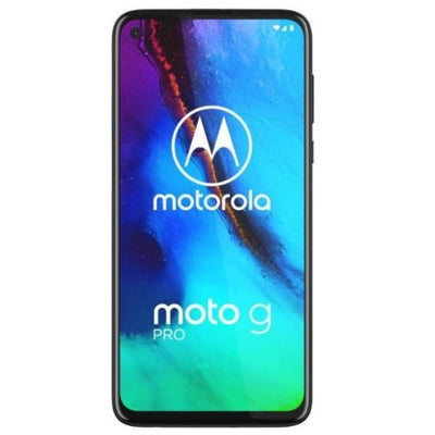 Motorola Moto G Pro (128GB, Dual Sim, Blue, Special Import)-Smartphones (New)-Connected Devices