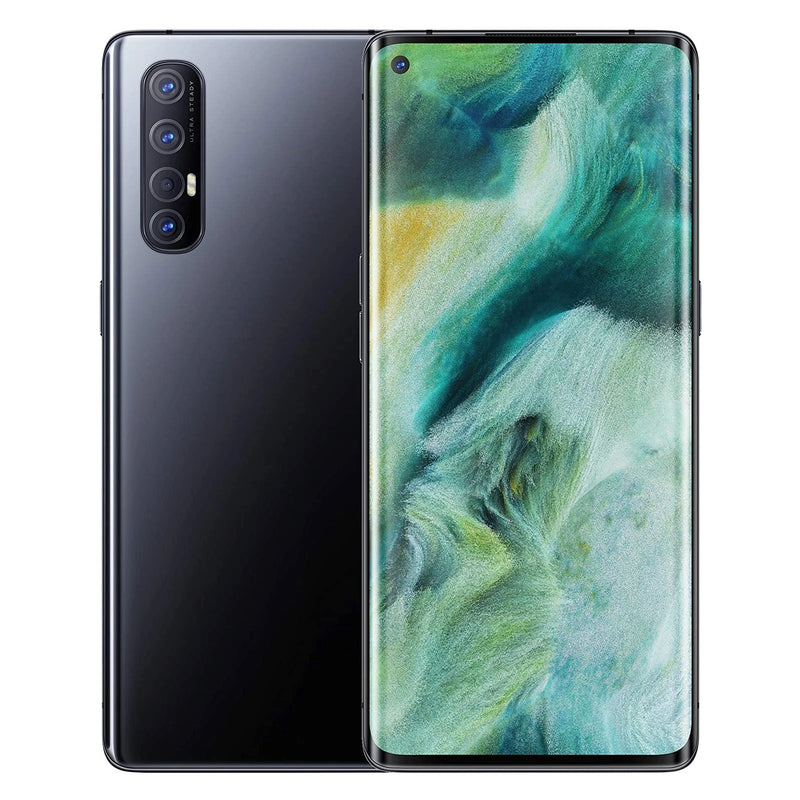 Oppo Find X2 Neo 5G (256GB, 12GB RAM, Single Sim, Black, Special Import)-Smartphones (New)-Connected Devices