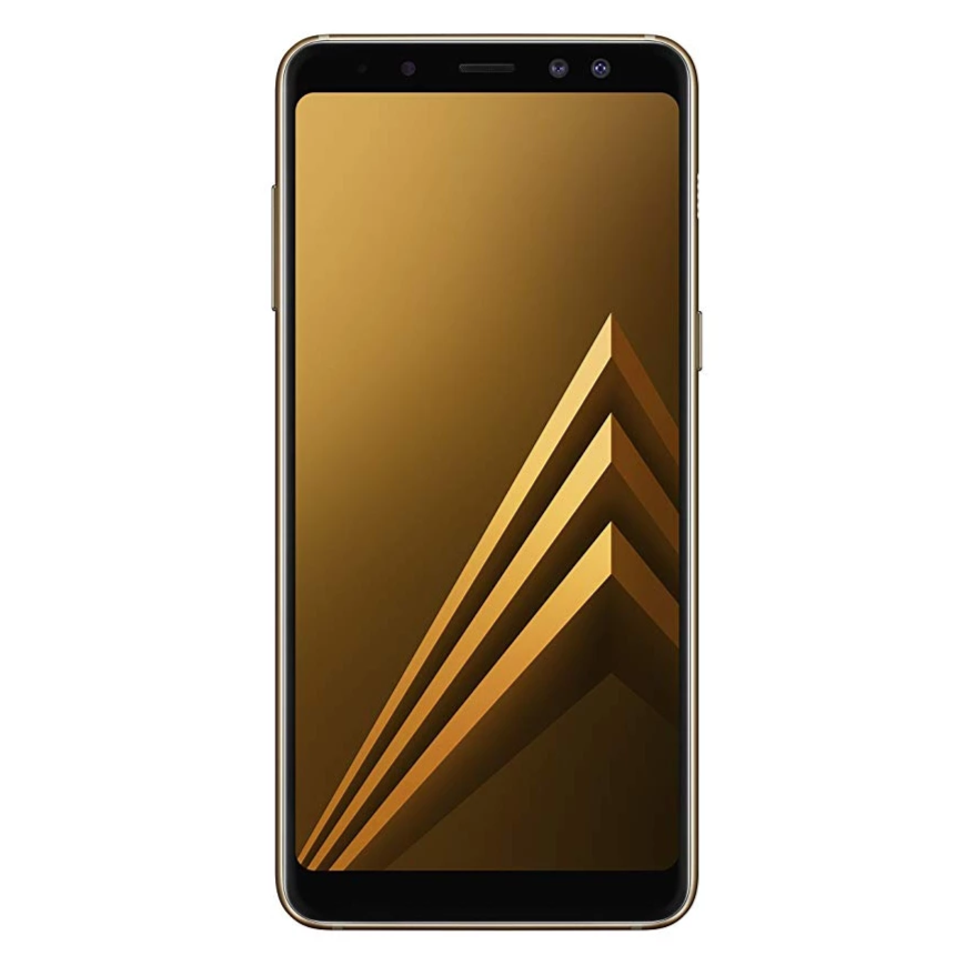 Samsung Galaxy A8 (2018, 32GB, Gold, Local Stock)-Smartphones (New)-Connected Devices