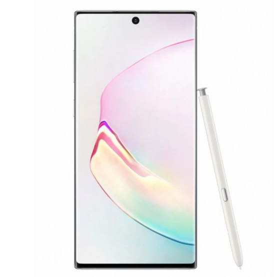 Samsung Galaxy Note 10 (256GB, Single Sim, Aura White, Local Stock)-Smartphones (New)-Connected Devices