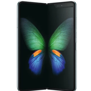 Samsung Galaxy Fold (512GB, Silver, Special Import)-Smartphones (New)-Connected Devices