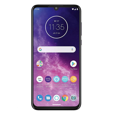 Motorola One Zoom (128GB, Dual Sim, Purple, Special Import)-Smartphones (New)-Connected Devices