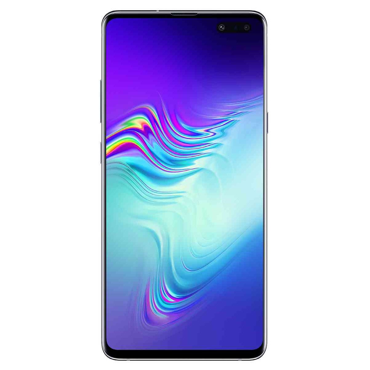 Samsung Galaxy S10 5G (256GB, Dual Sim, Crown Silver, Special Import)-Smartphones (New)-Connected Devices