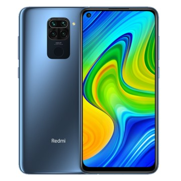 Xiaomi Redmi Note 9 (64GB, Dual Sim, Grey, Special Import)-Smartphones (New)-Connected Devices