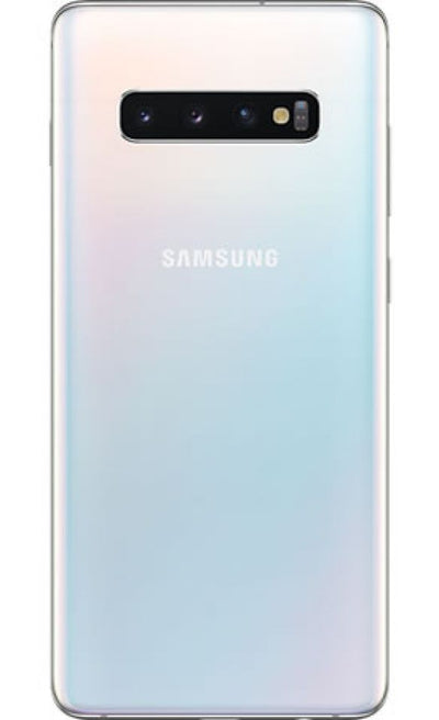 Samsung Galaxy S10 Plus (128GB, Dual Sim, Prism White, Special Import)-Smartphones (New)-Connected Devices