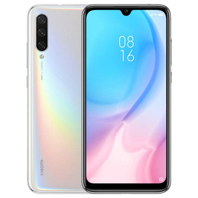 Xiaomi Mi A3 (128GB, Dual Sim, White, Special Import)-Smartphones (New)-Connected Devices
