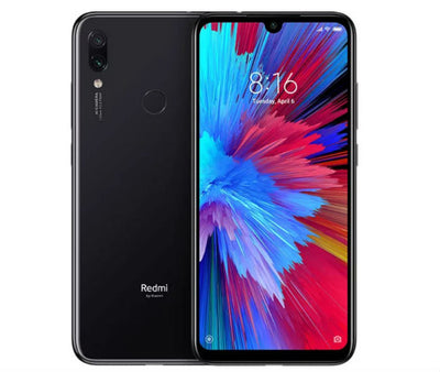 Xiaomi Redmi Note 7 (128GB, Dual Sim, Black, Special Import)-Smartphones (New)-Connected Devices