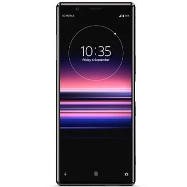 Sony Xperia 1 (128GB, Dual Sim, Black, Special Import)-Smartphones (New)-Connected Devices