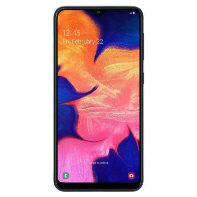 Samsung Galaxy A10 (32GB, Dual Sim, Black, Special Import)-Smartphones (New)-Connected Devices