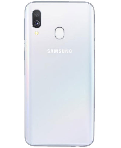 Samsung Galaxy A20e (32GB, Dual Sim, White, Special Import)-Smartphones (New)-Connected Devices