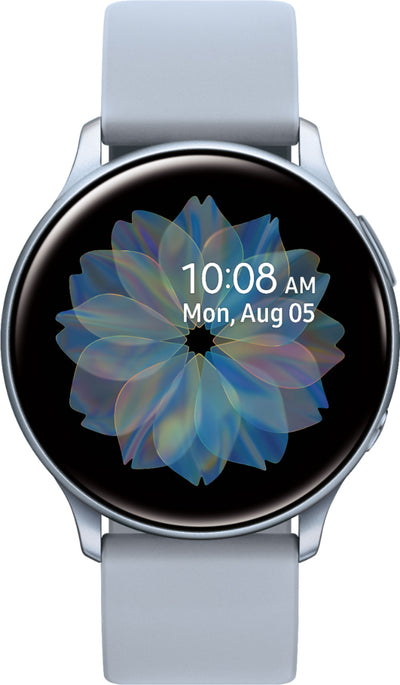 Samsung Galaxy Watch Active2 (WiFi, 4GB, 44mm, Silver, Special Import)-Wearables (New)-Connected Devices