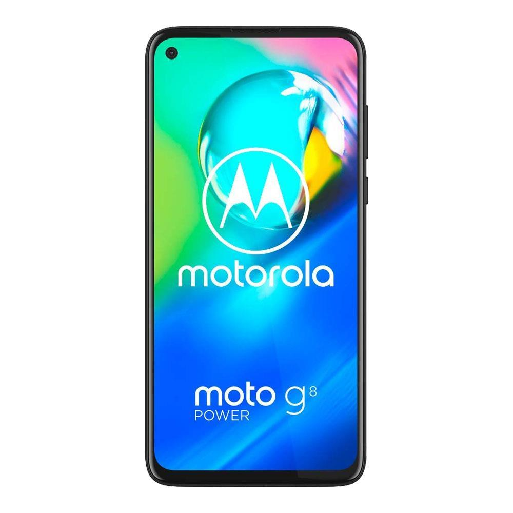 Motorola Moto G8 Power (64GB, Dual Sim, Black, Special Import)-Smartphones (New)-Connected Devices